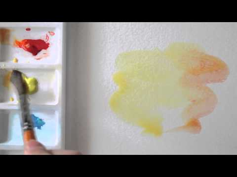 Making a watercolour Background wash
