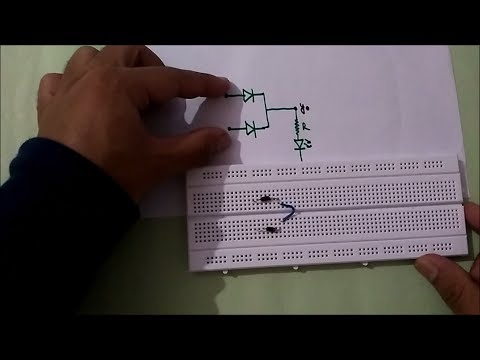 OR GATE USING DIODES(everything explained!)