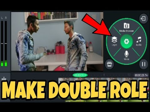 How to make double role video in mobile | chroma key Kinemaster Tutorial 2018