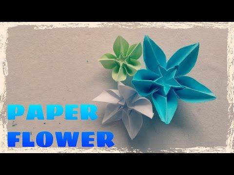 Origami Easy - Origami Flower Tutorial