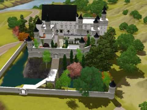 Sims3 Bavarian style Castle