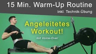 RUDERGERÄT TRAINING: Geführtes Workout inkl. Technik Übung (ideales Warm-Up)