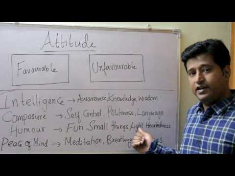 How to develop Positive Attitude in life?