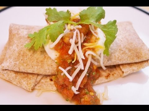 Turkey Taco Wrap Recipe: How to Make a Healthy Taco: Diane Kometa: Dishin With Di # 2