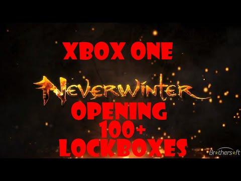 Neverwinter Xbox One - Opening 100+ Lockboxes