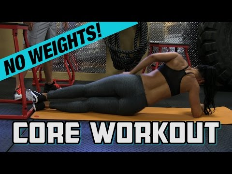Core Workout Without Weights for Stronger Abs (Do these TWO exercises!)