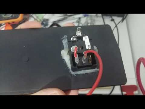 How to connect 3 pins Power Socket Module (FUSE,SWITCH,PLUG)