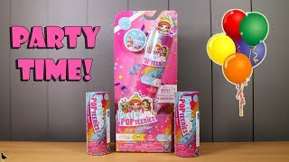 Party Pop Teenies Double Popper Surprise Toy Opening & Review   Birdew Reviews
