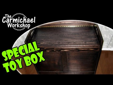 Making a Toy Box - DIY Woodworking Project