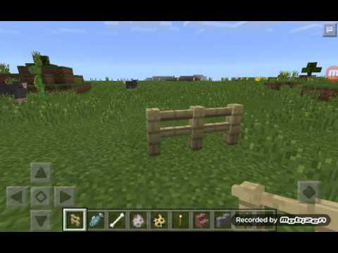 How to make an ocelot & wolf in minecraft PE
