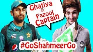 Go Shahmeer GO | Sarfaraz Best Captain | Thugs of Pakistan