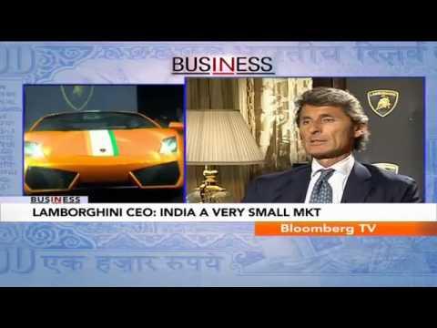 In Business - India Import Duties A Big Concern: Stephan Winkelmann