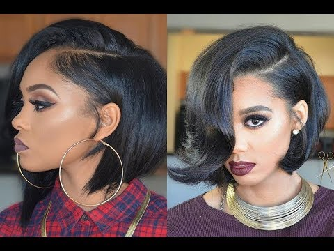 Cute Short Bob Hairstyles and Haircuts for Black Women ideas 2017