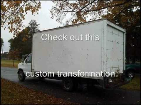 Box Truck to Mobile Canvas Shop