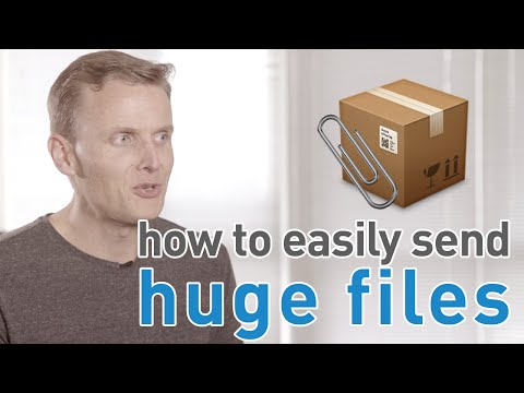 How to send large files with your Mac