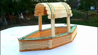 6 minutes, 14 seconds) Ice Cream Stick Boat Video
