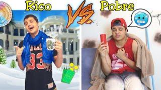 RICO VS POBRE NA ESCOLA #40 - NO INVERNO !!