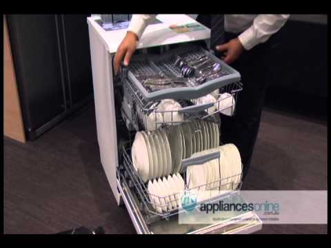 Highlighting Smeg dishwasher's features and flexibility - Appliances Online