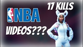 NBA Videos??? 17 Kills With Thick Bunny - Fortnite Battle Royale