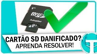 Como Recuperar Um Cartão Sd Danificado (sem Formatar)