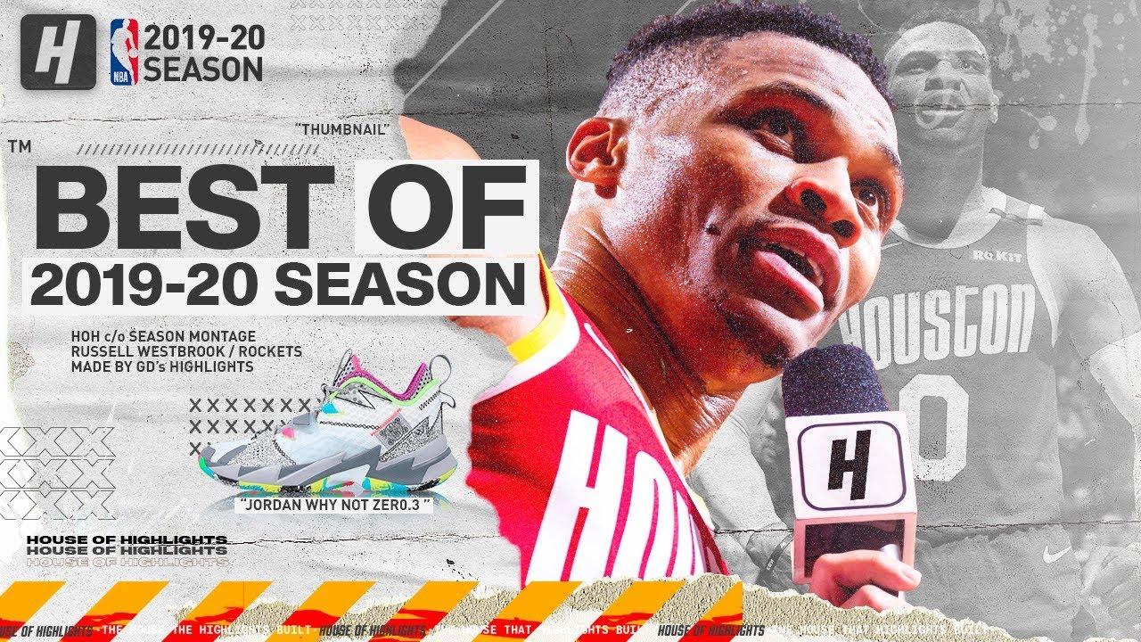 Russell Westbrook BEST Rockets Highlights from 2019-20 NBA Season (PART 1) BEAST MODE!