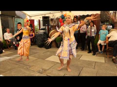 Thai Dancing event at the Blue Orchid Restaurant in Amersham Bucks Part 1