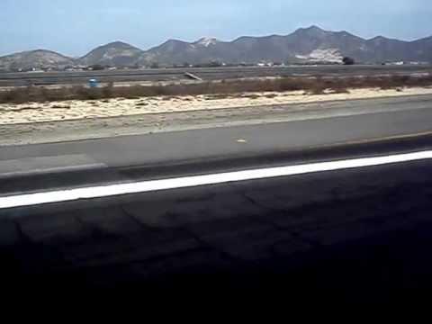 Aproximación y aterrizaje en San José del Cabo SJD