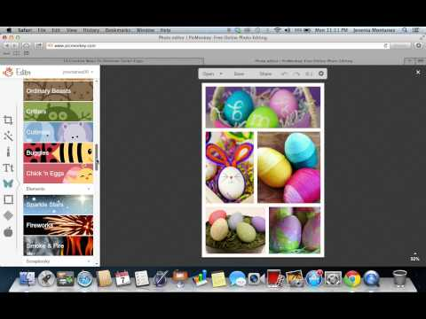 How To Create A Photo Collage Using PicMonkey