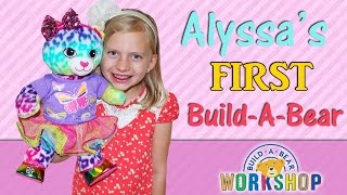 Download Alyssa's First Build-A-Bear Video