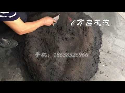 Charcoal briquette dryer/box-type dryer for drying charcoal briquettes and charcoal balls