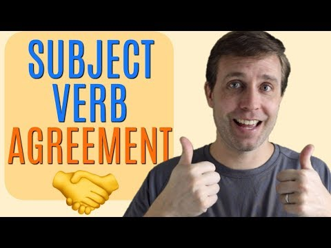 How to Improve Your Grammar Using Subject-Verb Agreement
