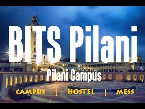 BITS Pilani: Pilani Campus - Campus, Hostel and Mess 2018