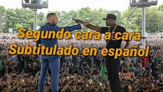Segundo cara a cara de Mayweather vs McGregor en Toronto subtitulado español