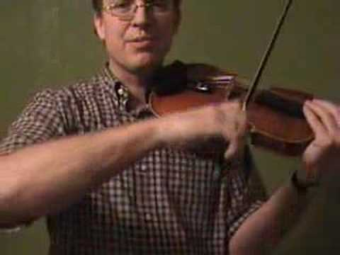 Violin Lesson #47; String Crossing pt. 5 (fast)