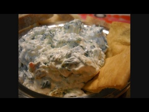 Homemade Spinach Dip!  Noreen's Kitchen
