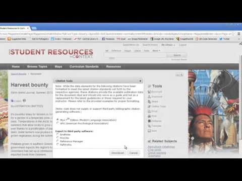 How to find magazine and journal articles