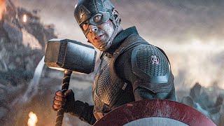 Cap Grabs Thor's Hammer Scene - AVENGERS 4: ENDGAME (2019) Movie Clip