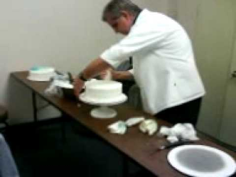 Chef ray icing a cake in under 7 min