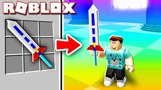 Roblox Adventures - CRAFT YOUR OWN SWORD & FIGHT IN ROBLOX! (Roblox Custom Sword Tournament)
