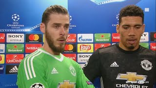 """A couple of good saves?!"" David de Gea reacts to stunning Sevilla stops"