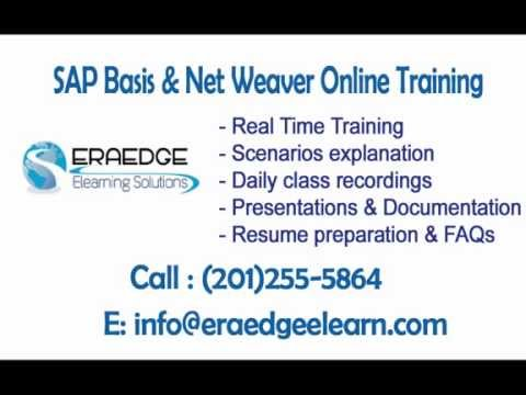 SAP Basis & Net Weaver Administration Online Training | Part 5 - HD