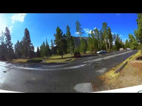 Madison Campground Yellowstone National Park 360 Video Virtual Reality Tour
