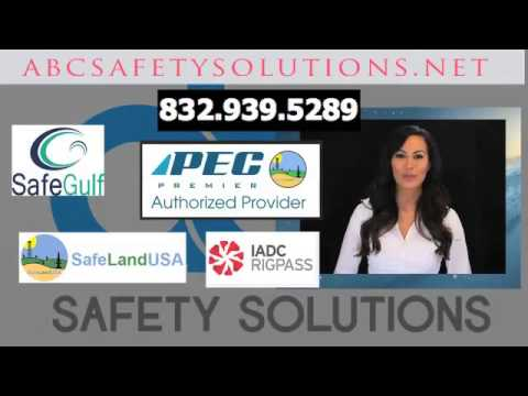 PEC card Safeland, Safegulf, rigpass, Registration for Safety Training with ABC SAFETY SOLUTIONS