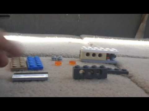 How to build a lego pocket knife