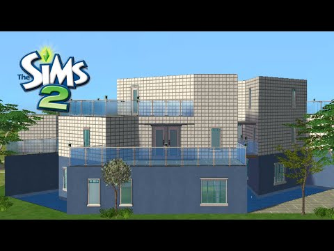 ♢ The Sims 2 ♢ Modern Pool House ♢