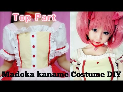 Anime Costume DIY - How to Sew Madoka kaname Costume I - Top Part - Step by Step