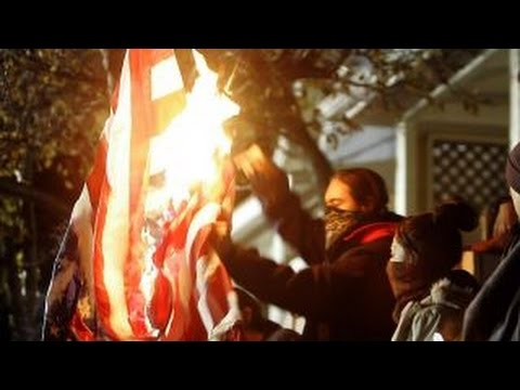Campus flag-burning sets off First Amendment debate