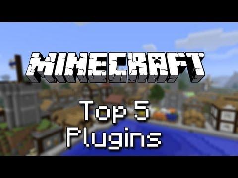 Top 5 Minecraft : Plugins (Craftbukkit 1.6)