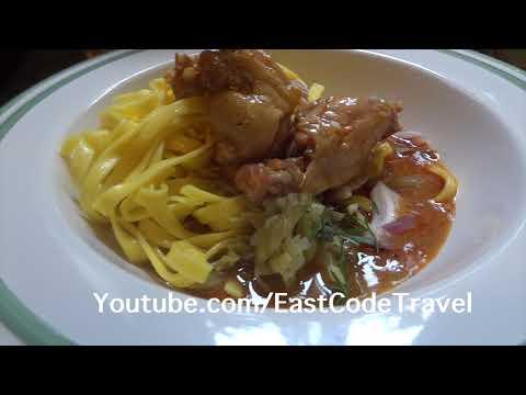 Khao Soi Thai curry noodle