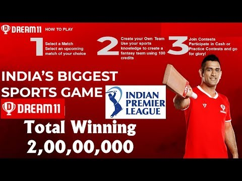 How to make money on dream11 (Complete Video).
